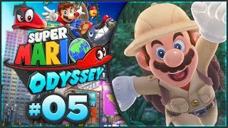 Super Mario Odyssey - Wooded Kingdom 100% Walkthrough! [Part 5]
