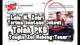 Tepis Hoax! Keluarga Zohri Bantah Telah Menolak Bantuan Presiden Jokowi