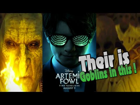 Artemis  Fowl Trailer#1 {MY Thoughts }