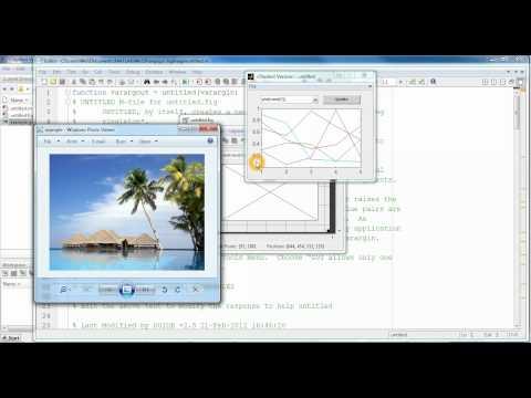Interface Processing Digital Images GUI MatLab | FunnyDog.TV