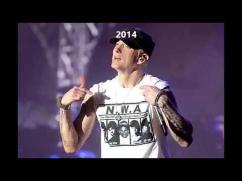 Eminem Evolution (Changing of His Voice 1988-2014)