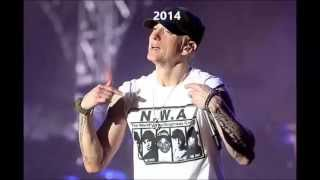 Eminem Evolution Changing Of His Voice 1988 2014