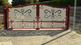 Универсальные распашные ворота. Ворота для дома(, 2014-09-19T03:21:53.000Z)