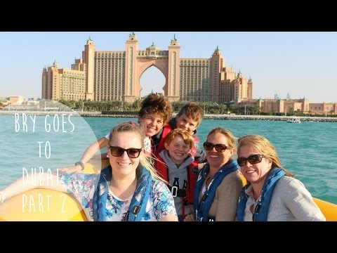 Burj Khalifa // Atlantis // Lost Chambers Aquarium // Dubai Mall // PART 2