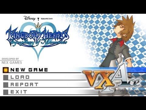 Kingom Hearts-style Title Screen Test- RPG Maker VX Ace