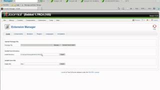 JSeblod - Install Using tmp Directory