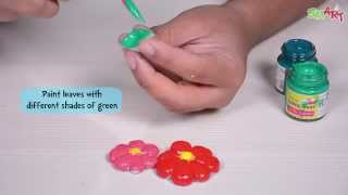 Learn How to Decorate a Flower POT | SMART Art