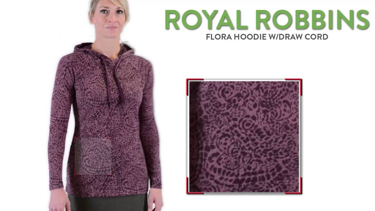 074048f26bc7 Royal Robbins Flora Hoodie (For Women) - YouTube