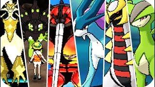Pokemon Ultra Sun & Ulтra Moon - All Legendary Pokémon Locations (1080p60)