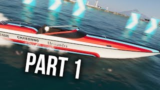 The Crew 2 Beta Gameplay Walkthrough Part 1 - POWER BOATS