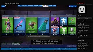 'NOUVEAU' Fortnite Item Shop COUNTDOWN Juillet 25,2019 NEW BIRTHDAY SKINS ?! (Fortnite Battle Royale) vivre