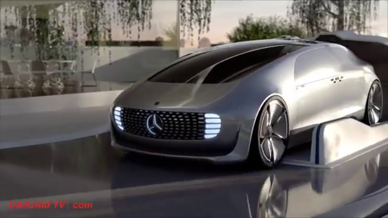 Mercedes Self Driving Car in the Real World of the Future ...