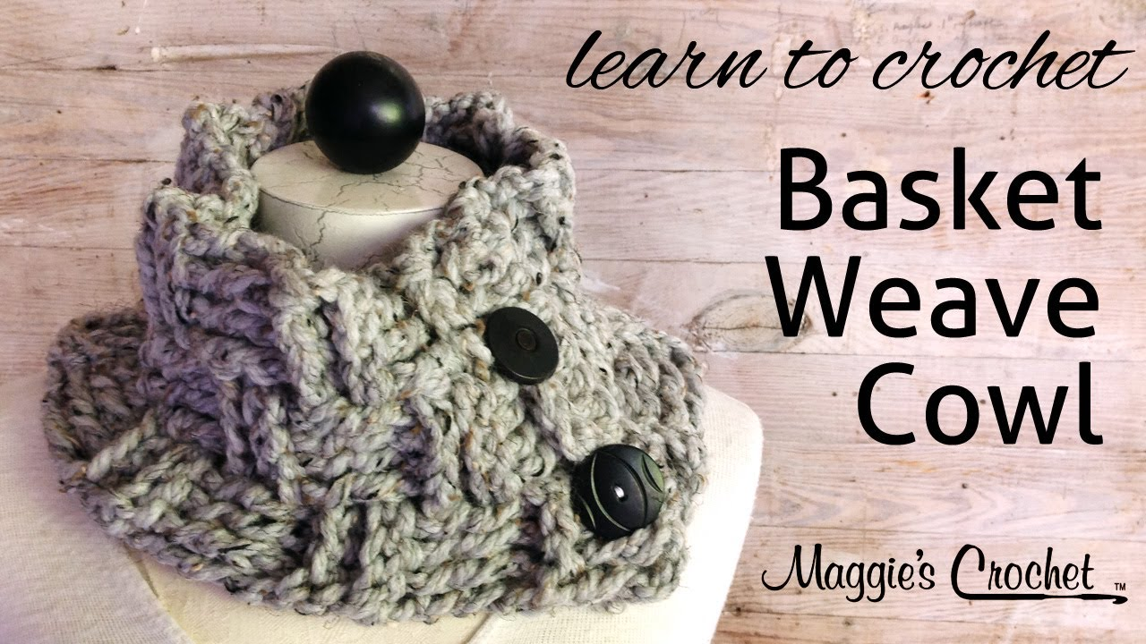 Basket weave cowl free crochet pattern youtube bankloansurffo Gallery