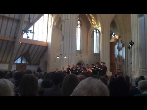 Eric Whitacre Singers — Nox Aurumque — Douai Abbey May 15, 2014