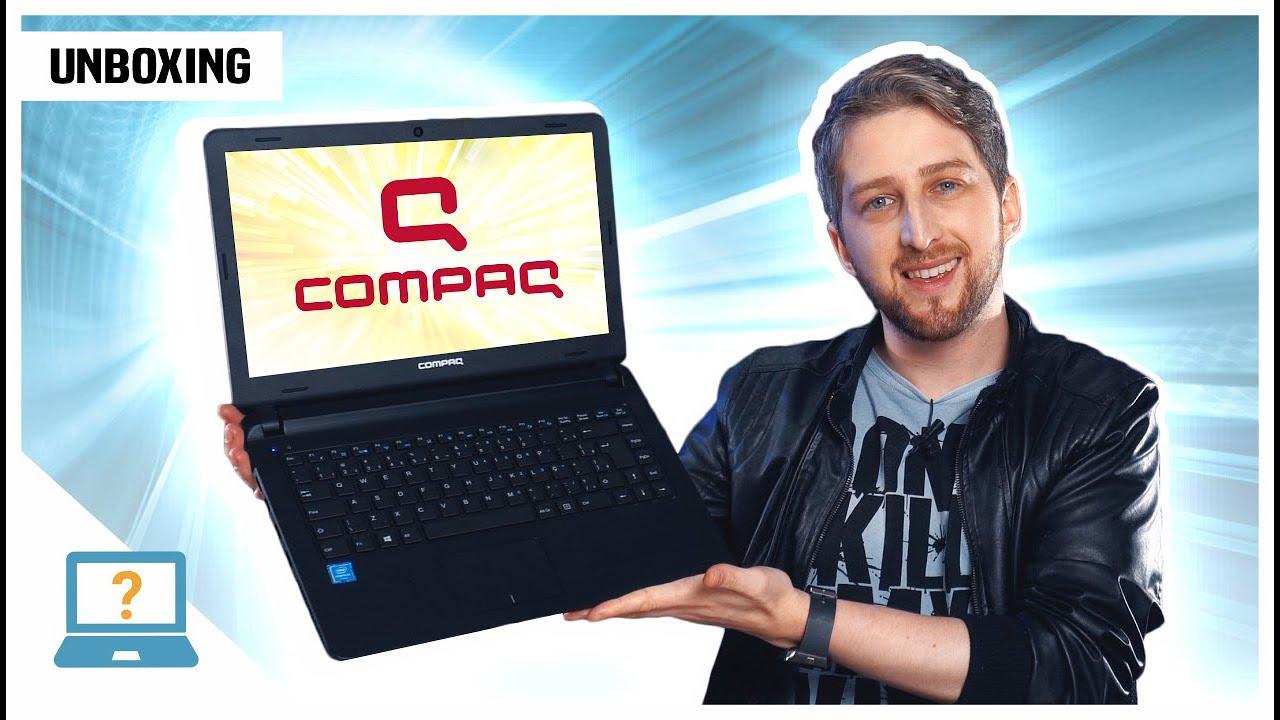 Unboxing Notebook COMPAQ Presario CQ barato para uso Básico 2020 | Pentium e SSD abaixo dos R$ 2 mil