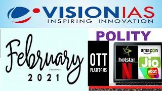 Vision Ias February 2021-Polity Current Affairs:UPSC/STATE_PSC/SSC/RAILWAY screenshot 5