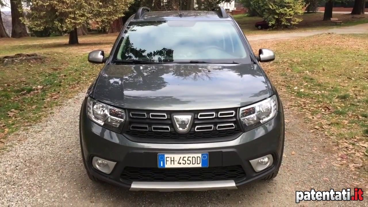 dacia sandero brave 0 9 tce 90 cv gpl prova su strada youtube. Black Bedroom Furniture Sets. Home Design Ideas