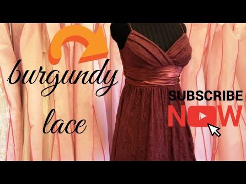 dress-no.13-|-speechless-burgundy-lace-short-dress-|-فستان-سواريه-قصير-خمري-دانتيل