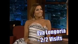Eva Longoria - Craig Is Mindblown By The Price Of Her Shoes - 2/2 Visits In Chron. Order