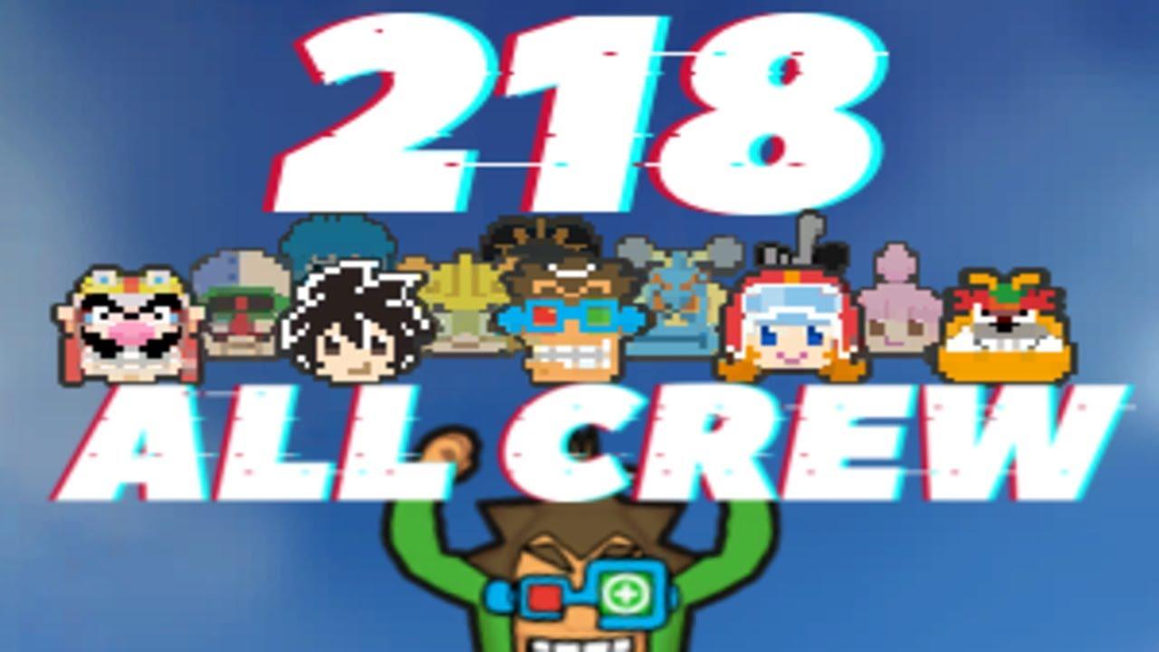218 Score ALL CREW - Super Hard - Warioware: Get it Together!