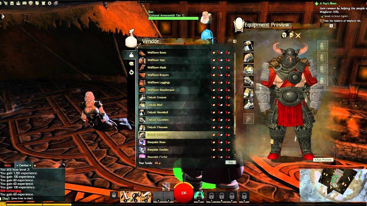 guild wars 2 how to make harrier armor