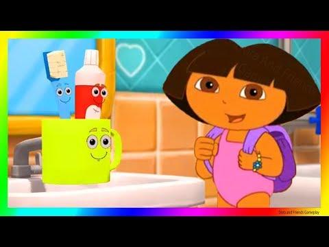 Dora and Friends The Explorer Cartoon Adventure 💖 Let's wash Face with Dora Gameplay as a Cartoon