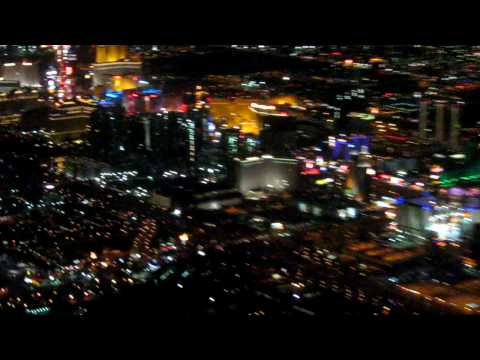 Las Vegas Nevada Strip Skyline at Night