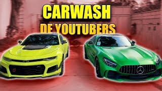 LAVADO DE AUTOS DE YOUTUBERS *carwash*    ALFREDO VALENZUELA