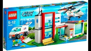 Lego City 4429 Helicopter Rescue - Lego Stop Motion