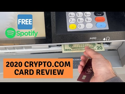 THE CRYPTO.COM BITCOIN DEBIT CARD REVIEW - This Is The Best Crypto Debit Card Of 2020 MCO CRO