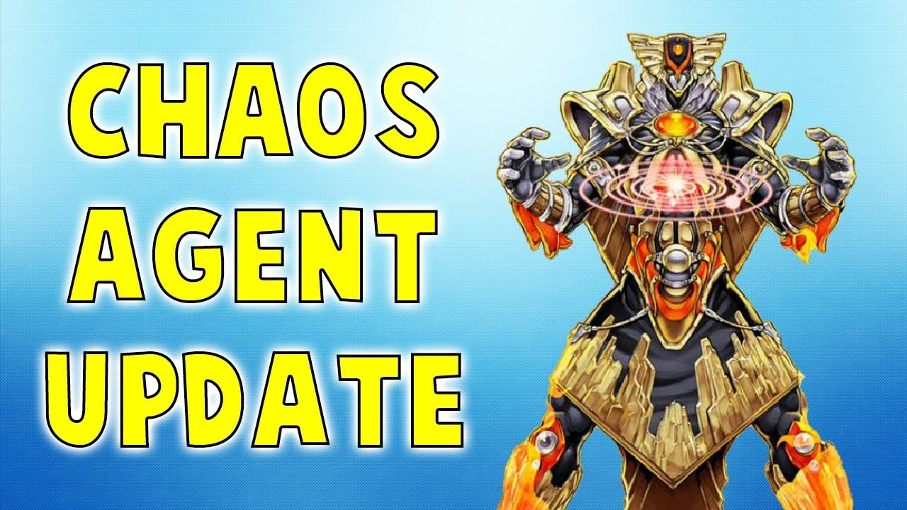 Yu-Gi-Oh! BEST CHAOS AGENT LINK DECK (April 2018)
