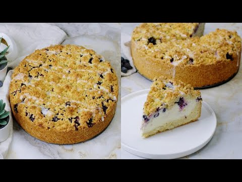 Blueberry cheesecake crumb you need to try this