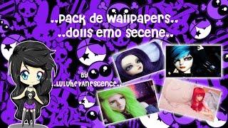 **Pack De Wallpapers Dolls Emo Scene**