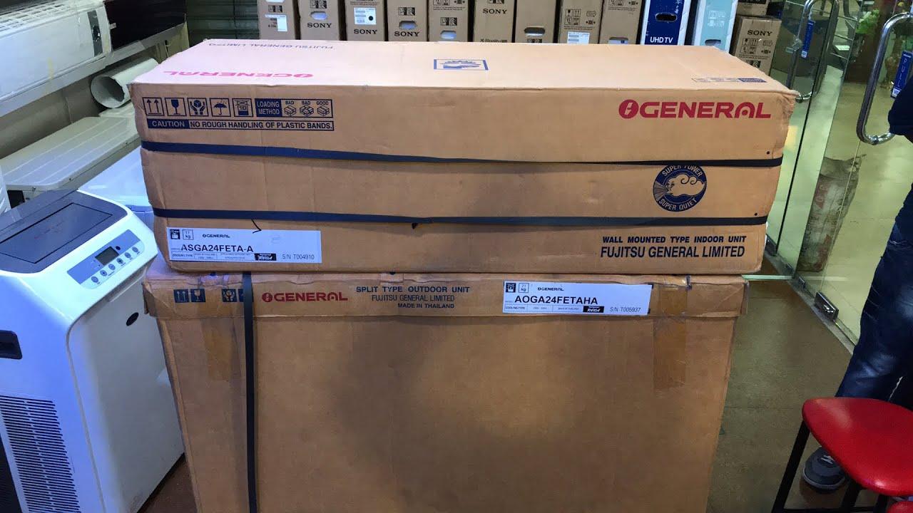O General 2 Ton 24000 BTU Split AC Price 2 Years Warranty