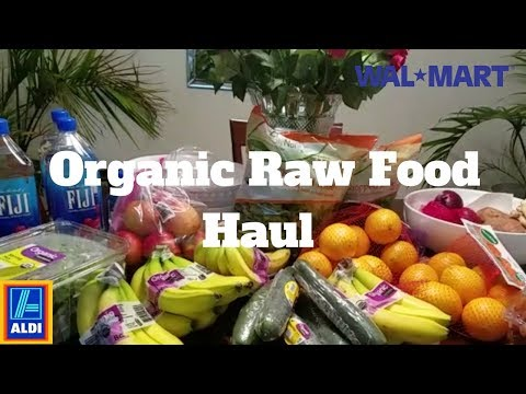 Organic Vegan Food Haul