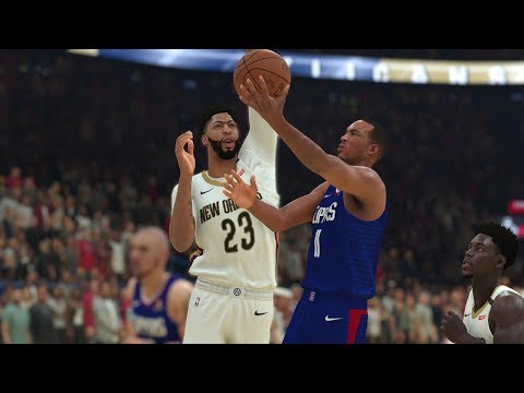 New Orleans Pelicans vs Los Angeles Clippers NBA Today October 23rd 2018 Pelicans vs Clippers NBA 2K