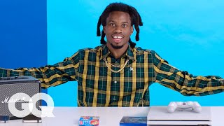 10 Things Denzel Curry Can't Live Without | GQ