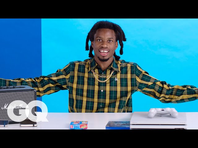 10 Things Denzel Curry Cant Live Without | GQ