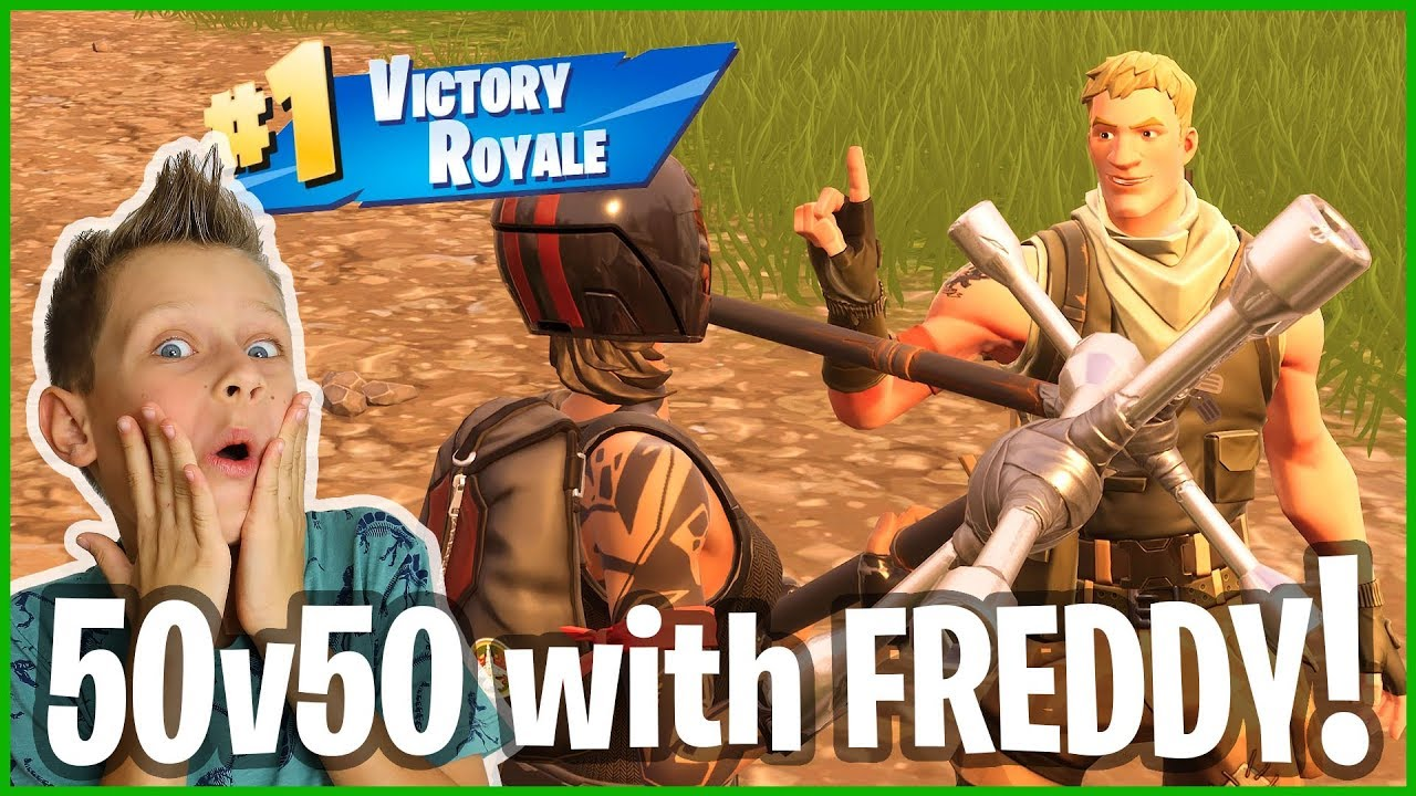 Download 50v50 Victory Royale with FREDDY!