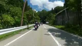 W650 明野ひまわりツーリング 2012 夏 パート1