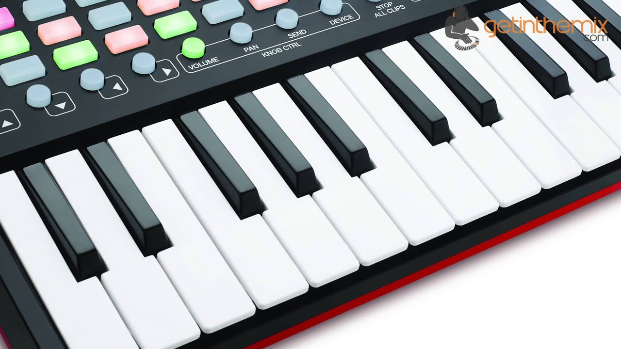 akai apc key 25 ableton keyboard controller youtube. Black Bedroom Furniture Sets. Home Design Ideas
