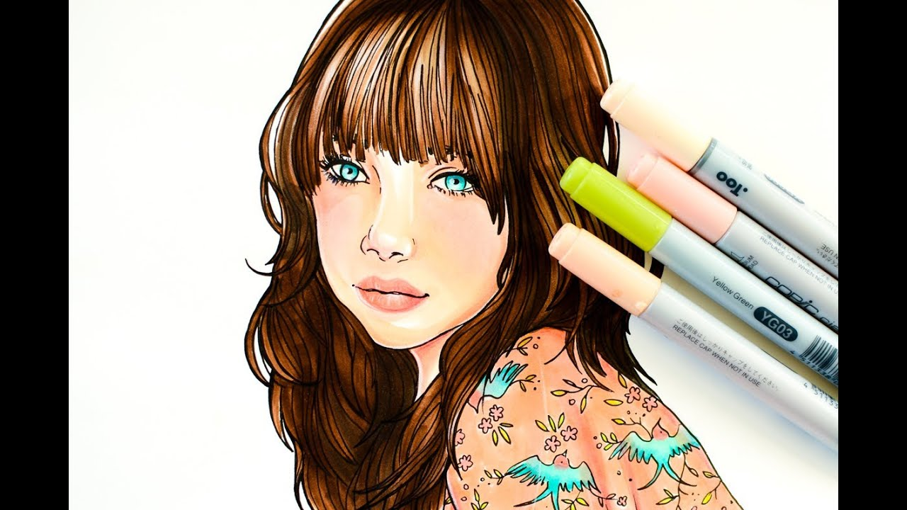 QUICK VERSION - How to color with copics: coloring with elegance ...
