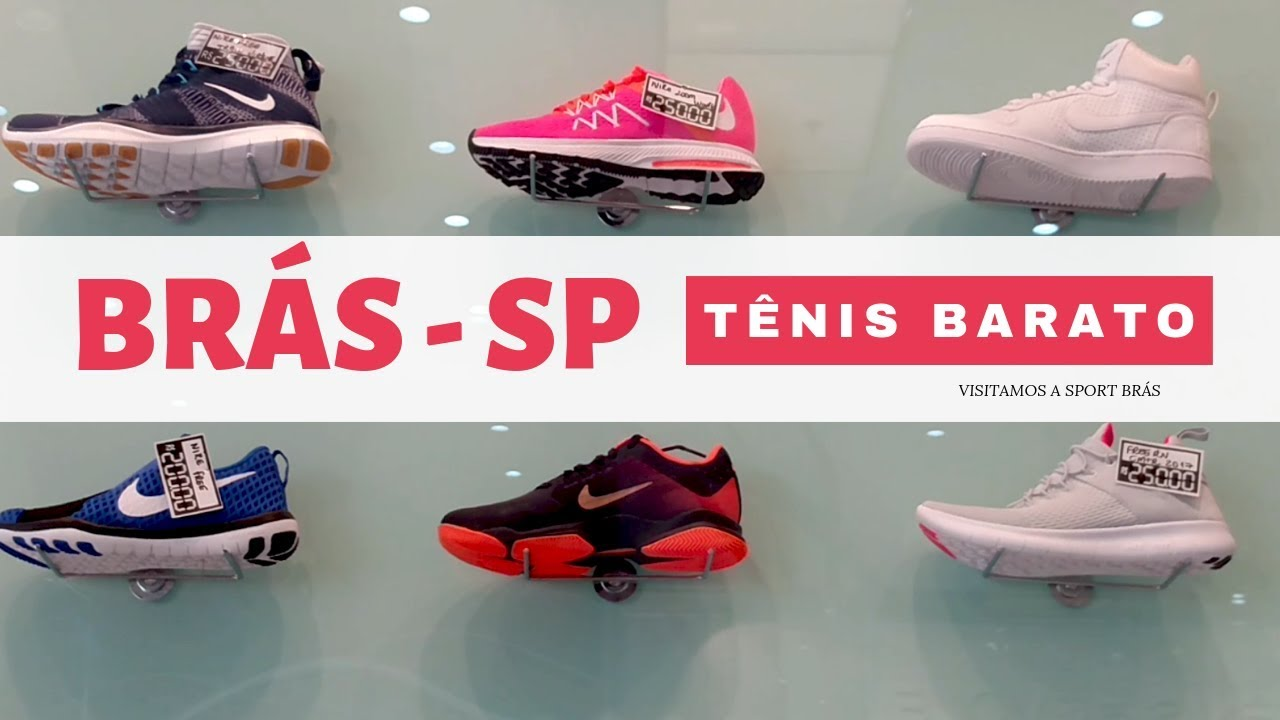 86781b5d651 Tênis Barato e Original sport Brás SP - Promoções - YouTube