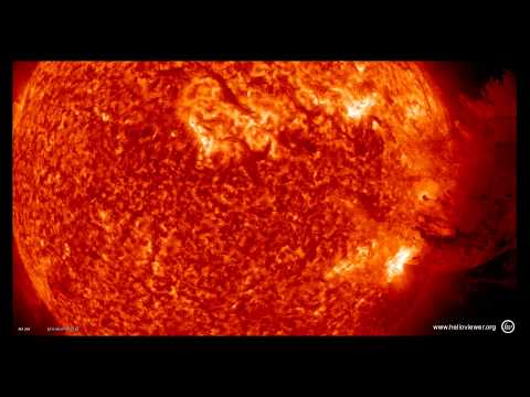 Simply Amazing Solar Prominence Eruption!