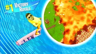 FORTNITE.. But the floor is lava.. (Infinite Lists Live)