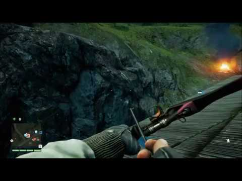 Far Cry 4 Outpost Liberation-Funny ending-Trolling the NPC