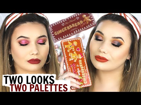 Two Look Tutorial   Too Faced Gingerbread Collection   shaemas day two thumbnail