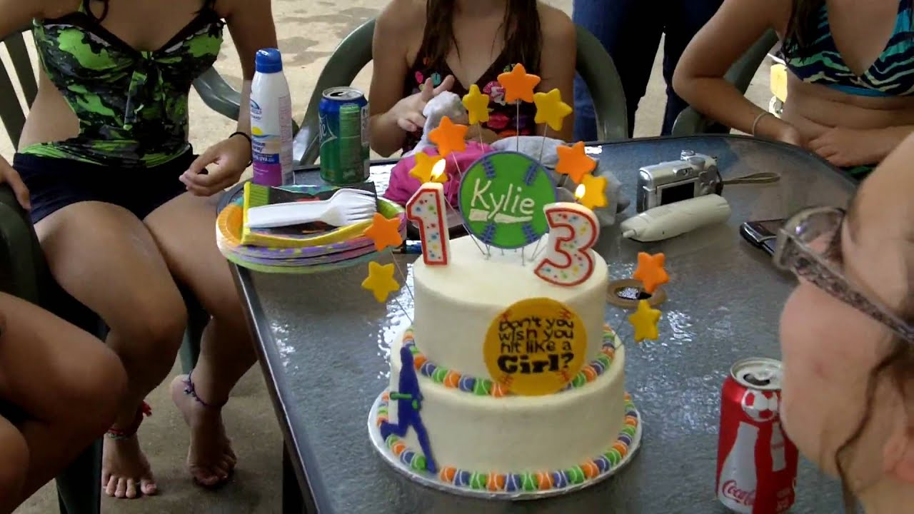 Kylie S 13th Birthday Party 2 Youtube