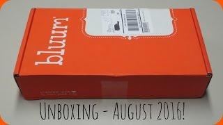 Bluum Box - August 2016 Unboxing + Promo Codes!