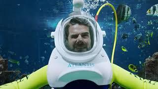 Стань смелее в воде   Atlantis, The Palm